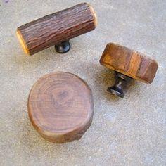 Custom Made Furniture/Cabinet Knobs U0026 Pulls Made Of Solid Hardwood At  Www.portaverdestudio