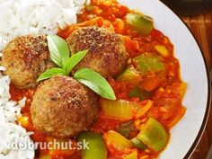 Indian koftas or meatballs, with spicy tomato Indian Food Recipes, Ethnic Recipes, Indian Sweets, Cornbread, Ale, Spicy, Menu, Tasty, Savory Snacks