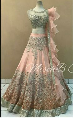 Wedding Dresses For Girls, Indian Wedding Outfits, Beautiful Prom Dresses, Bridal Outfits, Designer Wedding Dresses, Bridal Dresses, Indian Fashion Dresses, Indian Gowns Dresses, Dress Indian Style