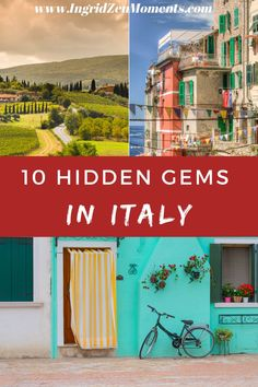 Here are 10 hidden gems in Italy I'm sure you haven't heard of! Skip Rome, Milan, or Florence and go for these smaller stunning places. Desktop Screenshot, Italy, Italia