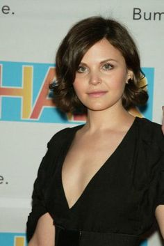 Ginnifer Goodwin-- i like the bob with curled ends.