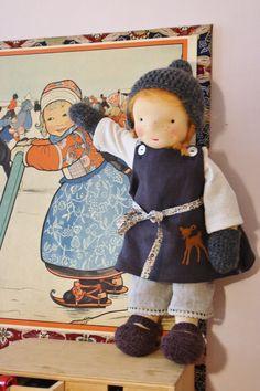 Puck, 16'' Waldorf inspired doll. $249.00, via Etsy.