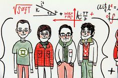 The Big Bang Theory by Gemma Correll - Gallery Nucleus