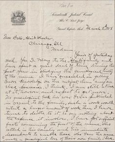 From Maine to Kentucky: Amanuensis Monday ~ 1898 Letter From An Adsit Cousin