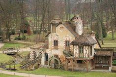 Le hameau de Marie Antoinette à Versailles, France