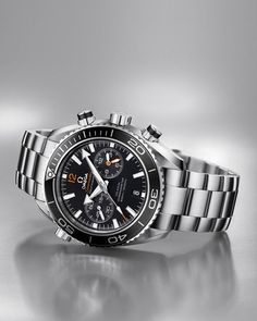 Omega Seamaster Planet Ocean Chronometer. A must have for Omega watch collectors!