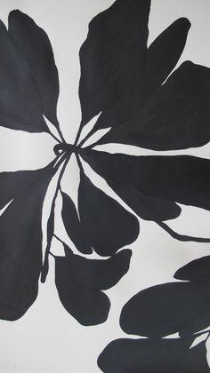 Plant Illustration, Flower Illustrations, India Ink, Fabric Painting, Botanical Art, Ink Art, Flower Prints, Art Inspo, Watercolor Paintings