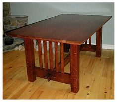 Grove Park Trestle Table by Bassett -- sale: $1,899 -- Mission ...
