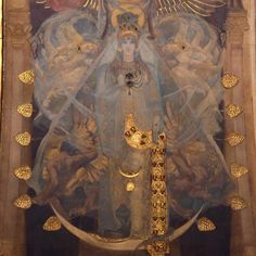 """John Singer Sargent (American, 1856-1925), """"Astarte"""" from Pagan Gods mural, Sargent Hall, Boston Public Library."""