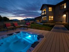 Go For the Glow - Sexy Hot Tubs and Spas on HGTV