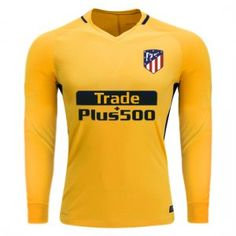 2017 LS Jersey Atletico Madrid Away Replica Yellow Shirt 2017 LS Jersey  Atletico Madrid Away Replica Yellow Shirt  73582f39ad707