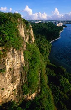 Two Lovers Point - watch the road its a long way down!  Guam