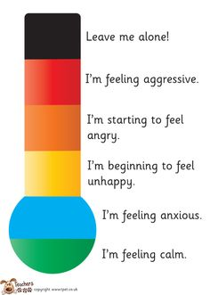 Teacher's Pet - Feelings thermometer - FREE Classroom Display Resource - EYFS, KS1, KS2, feelings, behaviour management, autistic, autism, anger, behaviour
