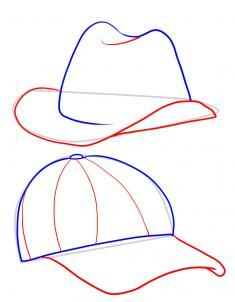 How to Draw Hats, Step by Step, Fashion, Pop Culture, FREE Online Drawing Tutorial, Added by Dawn, March 24, 2011, 12:04:06 am