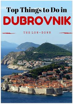 Our guide to the top things to do in Dubovnik as well as our experiences in Dubrovnik with kids http://www.wheressharon.com/europe-with-kids/top-10-things-to-do-in-dubrovnik/