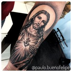 buenofelipe Psychedelic Tattoo Rua Agenor Meira Bauru SP, - why not visit our site for more inspirational tattoo ideas? Forarm Tattoos, God Tattoos, Body Art Tattoos, Tatoos, Cross Tattoos, Arm Tattoos For Guys, Trendy Tattoos, Popular Tattoos, Tatuaje Cover Up