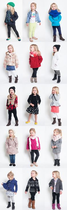 So, Spring will be on the way soon and that got me thinking about all of the adorable outerwear of Sierra's that we will soon be saying goodbye to. Most of it is hand-me-downs from her big sis Alana that I updated by pairing with different accessories, but a few pieces are new to herFor whatever…