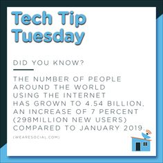 Today's #TechTipTuesday only exemplifies the increasing necessity for businesses of all sizes to move to the digital sphere! Websites, social media marketing, eCommerce - the works. 💥💻 #tech #socialmedia #SSM #digitalagency #websites #digitalindustry #eCommerce