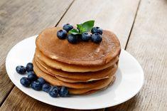 Hazelnut Pancakes With Pear Spread