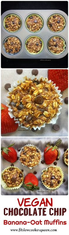 These kid-friendly vegan breakfast muffins can be dressed up with fruit, nuts or chocolate chips. By adding more honey, this can also be a dessert.