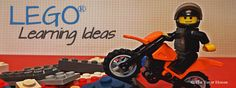 LEGO Learning Ideas from The Tutor House Engage In Learning, Inquiry Based Learning, Tools For Teaching, Teaching Math, Summer Camps, Day Camp, Lego Brick, Lego Creations, Bricks