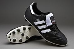 adidas Football Boots - adidas Copa Mundial - Soccer Shoes - Firm Ground - Black / White