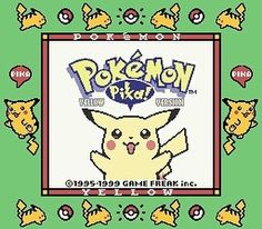 So this was the #game that started it all for me. When I discovered the #anime of #Pokemon my interest was piqued but it wasn't until I played #PokemonYellow that I knew I was hooked. In addition to giving me a love of Pokemon this game was also what got me interested in #RPG style games as a whole (that love affair wouldn't be finalized until I played #KingdomHearts but Pokemon was definitely the seed. It felt really good firing the game up today on my #Retron5 and starting my first Pokemon…