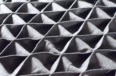 Geometric fabric manipulation - dimensional texture, shape, construction…