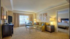 Waldorf Astoria Orlando's Chairman's Suite is an exquisite corner suite with two bedrooms and two bathrooms offering a spacious sanctuary to relax and unwind.