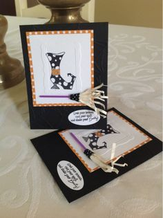 Stampin' All Day With Bev: Convention or Bust. Another great idea with this set that I love.