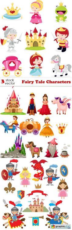 Vectors - Fairy Tale Characters