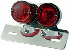 Motorcycle License Plate Lights