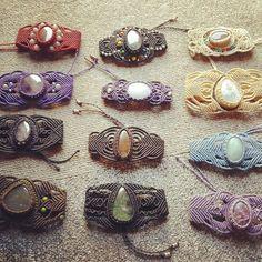 Bijoux solaires feel great !! So much creativity ! Freemind.... #macrame #micromacrame #micromacramejewelry #bijoux #bijouxmacrame #bijouxmicromacrame #naturalstone #indiastone #magicstone #thanksindia #gypsystyle #gypsy #hippie #hippiestyle #boheme #bohemechic #rastachic #rastajelewery #freemind #onelove #madehand #handmade #love #peace #unity #unicpiece