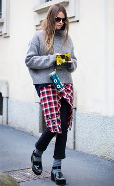 How to Totally Master the Art of Layering via @WhoWhatWear
