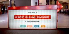 """Pinterest Plans """"Choose Your Own Adventure"""" Product Announcement For April 24   TechCrunch"""