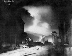 Eruption of Mount Vesuvius in March of 1944.