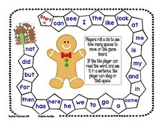Beginning Sight Words: 3 Games (FREEBIE) from Teacher Features on TeachersNotebook.com -  (3 pages)  - FREEBIE! FREEBIE! FREEBIE! Three winter-themed game boards for Kindergarten and First Grade! All you need to add is a die and player markers. Enjoy!