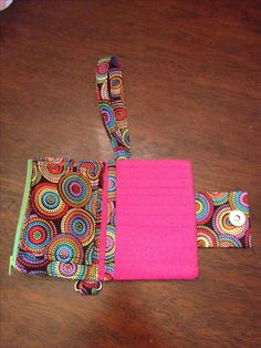 DIY Cell phone & card wristlet with zipper pouch. You can get this completed wristlet at my ETSY shop! Or try the pattern (very detailed instructions!) here:  http://www.etsy.com/listing/110025206/small-wallet-wristlet-pdf-pattern-diy?