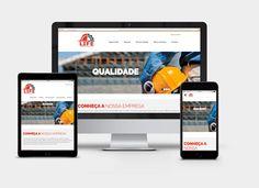 Criação do Layout e Desenvolvimento do Site