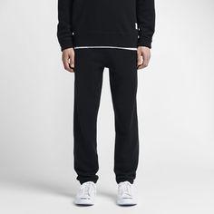 Converse Essentials Sportswear Jogger Men's Sweatpants Size Medium (Black)