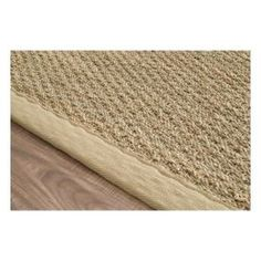 $5 Off when you share! Maui Seagrass with Border Black Rug | Contemporary Rugs #RugsUSA