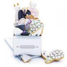 Wedding Bells Biscuit Tin #Wedding Gifts http://www.giftgenies.com/presents/edible-wedding-bells-tin