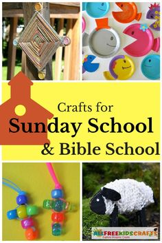 43 Sunday School Crafts and Bible School Crafts for Kids | Make Vacation Bible School and Sunday School fun with these amazing crafts for kids and stop spending money on expensive kits.