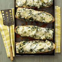 Spinach-Artichoke French Bread Pizza easy dinners