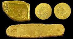 Piezas reales de a ocho. El tesoro del Museo Mel Fisher.  real pieces of eight.   mel fisher's treasure