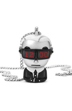 KARL LAGERFELD 'tokidoki' Digital Necklace Watch available at #Nordstrom