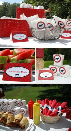 Love this farm themed party