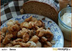 Sádlo a škvarky v pomalém hrnci recept - TopRecepty.cz Multicooker, Cauliflower, Crockpot, Slow Cooker, Tasty, Meat, Chicken, Vegetables, Ethnic Recipes