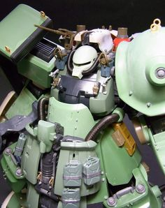 Toriyama's Custom Zaku - Custom Build + Diorama - Gundam Kits Collection News and Reviews