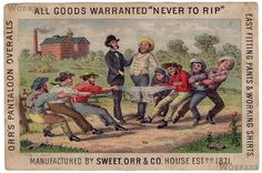 Sweet Orr and Co., 1871